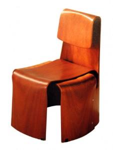 Teresa Kruszewska krzesło dla dziecka, Krzesło Muszelka