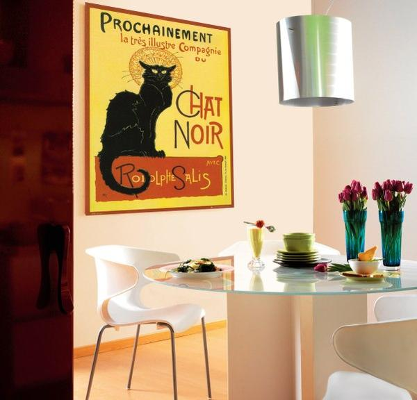 Plakat salon, plakat na ścianie, plakat w kuchni, urządzanie wnętrz plakatami, royal arts antyki,