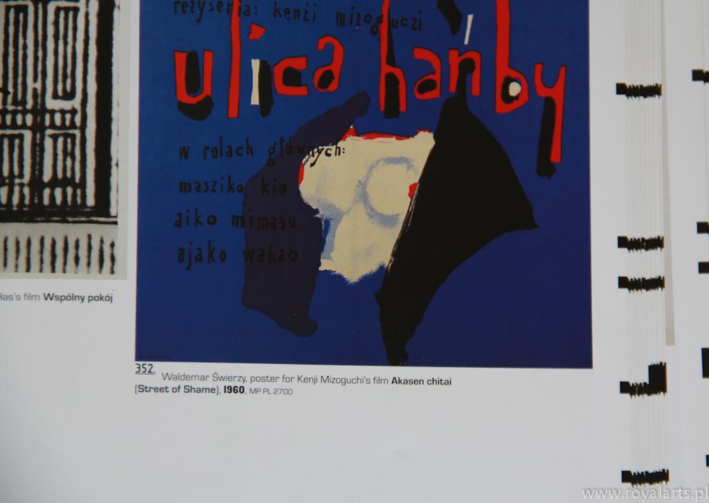 Waldemar Świerzy, Ulica Hańby, Akasen Chitai, polska szkoła plakatu, polish poster, polski plakat