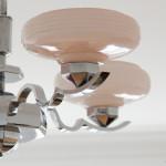 żyrandol art deco, żyrandol chromowany, żyrandol niklowany, żyrandol klasyczny, żyrandol modernistyczny, oświetlenie art deco, oświetlenie modernistyczne, urządzanie wnętrz antykami