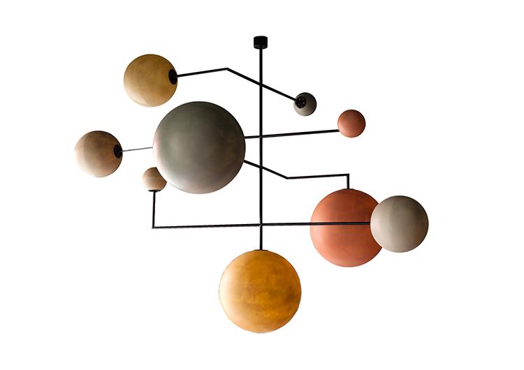 Żyrandol kosmos, żyrandol planety