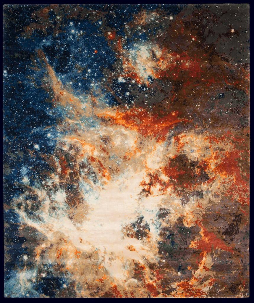Dywan kosmos, dywan niebo, dywan space