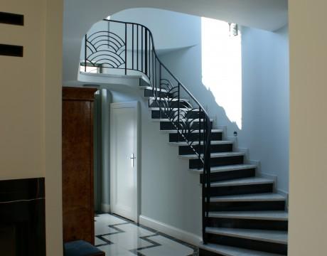 Rezydencja Art Deco Projekt Wnętrz Architekt 1930 Modernizm 3