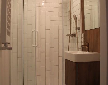 Royal Arts Marlena Kwiatkowska Mieszkanie Apartament Łazienka Drewno Miedź 9
