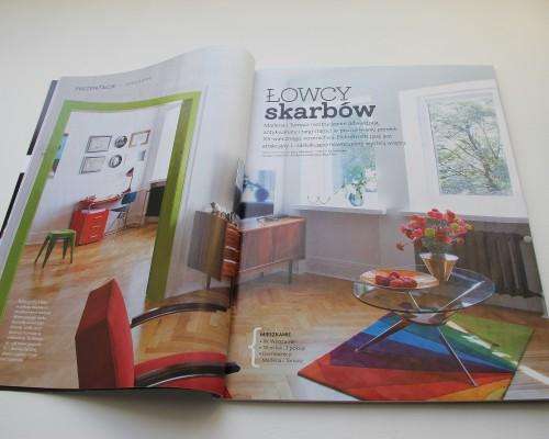 Royal Arts Marlena Kwiatkowska Projektant Wnętrz Publikacja Magazyn Cztery Kąty Antyki 2